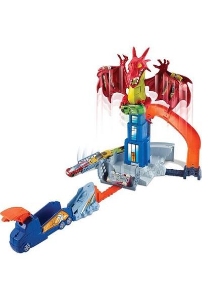 Hot Wheels Ejderha Macerası Oyun Seti Dwl04