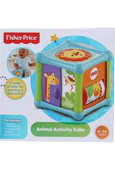 Fisher Price Sevimli Hayvanlar Aktivite Kübü Bfh80
