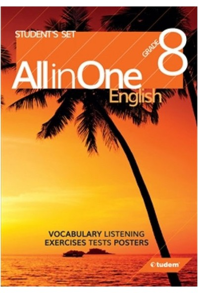 Tudem Yayınları 8. Sınıf İngilizce All In One