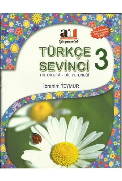 A1 Yayıncılık 3. Sınıf Türkçe Sevinci Dil Bilgisi Dil Yeteneği Kopartmalı Test