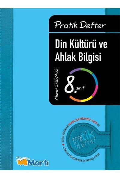 Martı Yayınları 8. Sınıf Din Kültürü ve Ahlak Bilgisi Pratik Defter