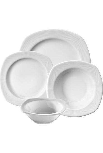 Kütahya Porselen Çisil 24 Parça Yemek Takımı