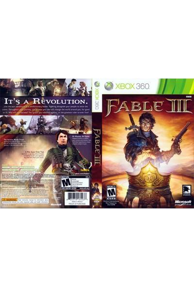 Fable Iıı Xbox 360