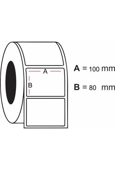 Kalite Barkod - 80x100 Termal Barkod Etiketi 10 Rulo 3.500 Adet