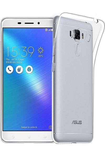 Tg Asus Zenfone 3 Zc551Kl Şeffaf Silikon Kılıf