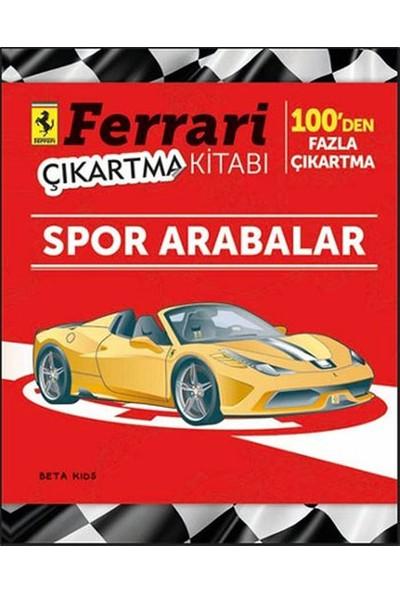 Ferrari Spor Arabalar Çıkartma Kitabı