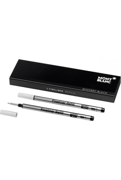 Montblanc Fineliner Kalem Yedeği Siyah 105170