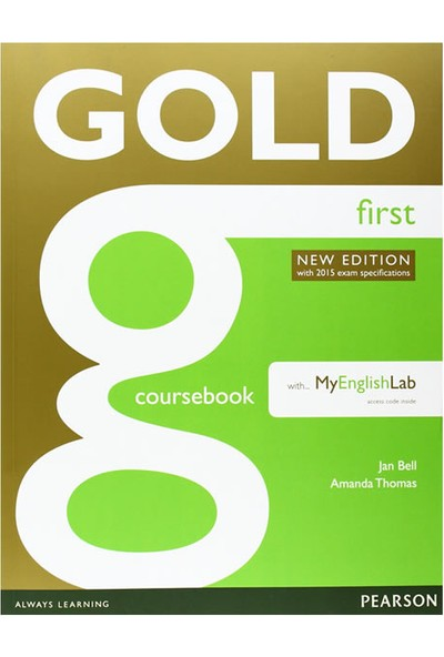 Gold Coursebook With Myfcelab Pack