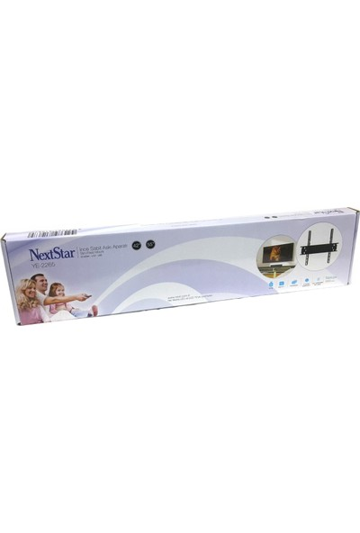 NextStar YE-2265 40''-55'' Sabit LCD LED TV Askı Aparatı