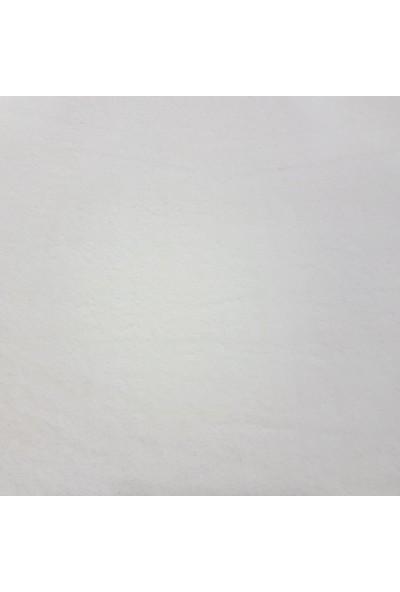 HomeStill WelSoft Premium Lastikli Halı Örtüsü Sade Krem 150x230cm