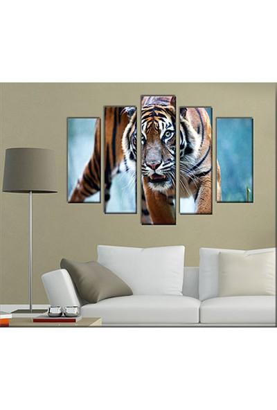 Evinemoda 5 Parçalı Mdf Tablo - Tiger