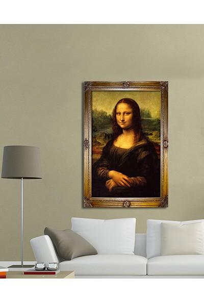 Evinemoda Çerceve Baskılı Tek Parça Mdf Tablo - Mona Lisa