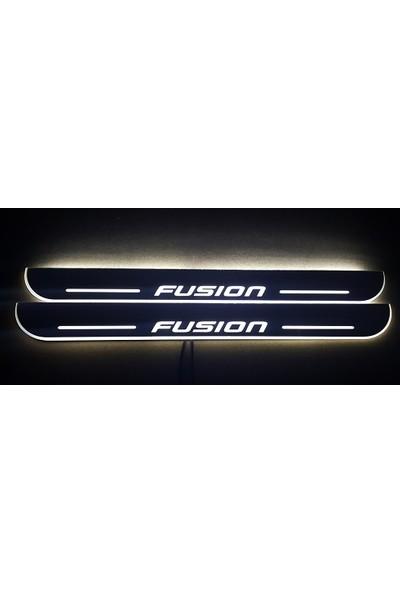 Boostzone Ford Fusion Plastik Işıklı Kapı Eşiği 2Li