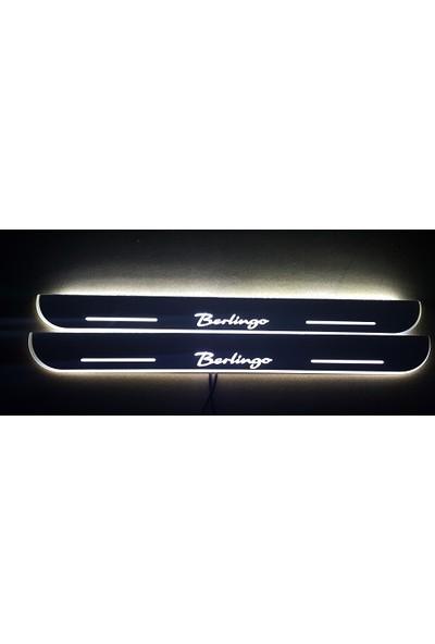 Boostzone Citroen Berlingo Plastik Işıklı Kapı Eşiği 2Li