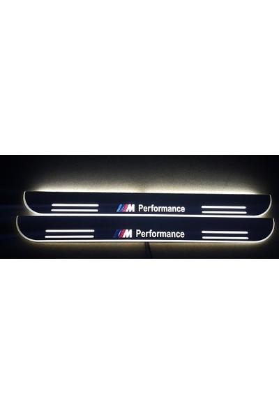 Boostzone Bmw ///M Performance Plastik Işıklı Kapı Eşiği 2Li