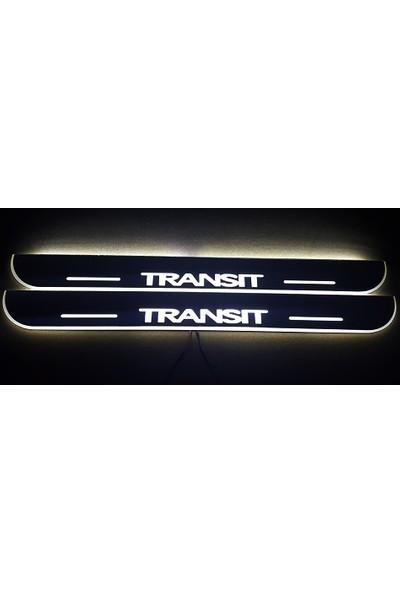Boostzone Ford Transit Plastik Işıklı Kapı Eşiği 2Li
