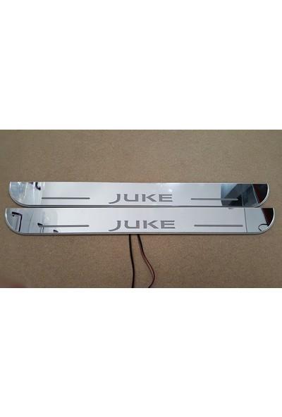 Boostzone Nissan Juke Plastik Işıklı Kapı Eşiği 2Li