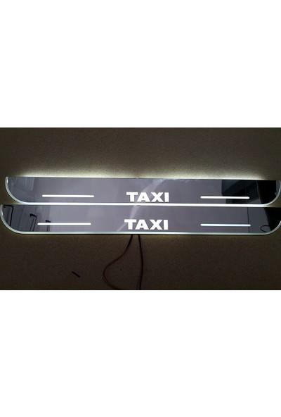 Boostzone Taxi Plastik Işıklı Kapı Eşiği 2Li