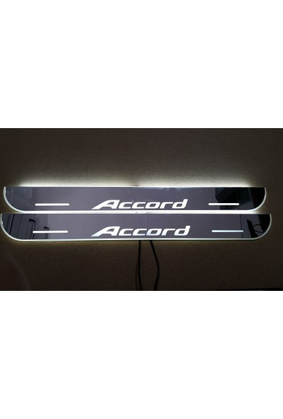 Boostzone Honda Accord Plastik Işıklı Kapı Eşiği 4Lü