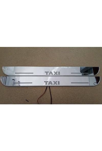 Boostzone Taxi Plastik Işıklı Kapı Eşiği 4Lü