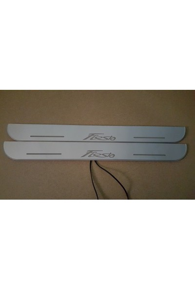 Boostzone Ford Fiesta Plastik Işıklı Kapı Eşiği 4Lü