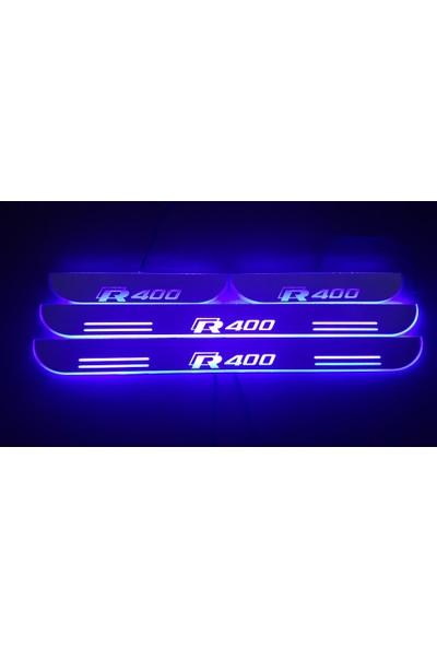 Boostzone R400 Işıklı Kapı Eşiği 2Li