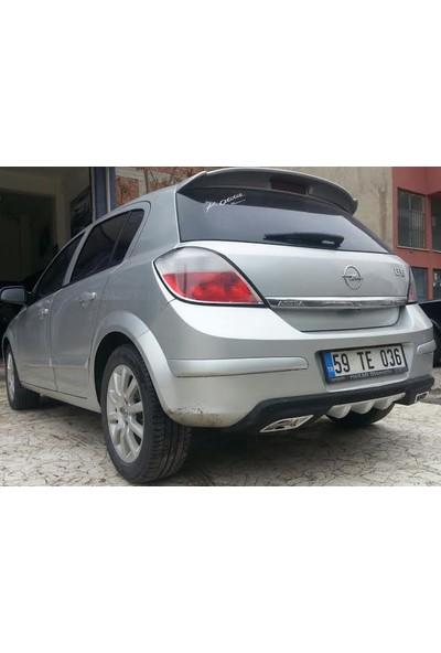 Boostzone Opel Astra H Arka Tampon Difüzör