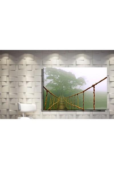 Pia Hediyelik Kanvas Tablo Köprü