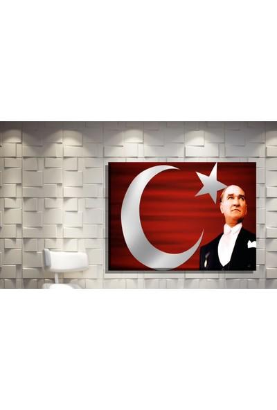 Pia Hediyelik Kanvas Tablo Atatürk