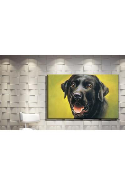 Pia Hediyelik Kanvas Tablo Köpek Model
