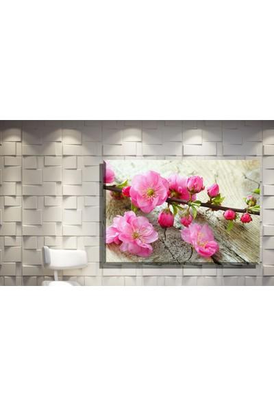 Pia Hediyelik Kanvas Tablo Çiçek Model