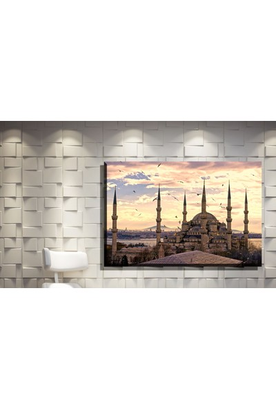 Pia Hediyelik Kanvas Tablo Sultan Ahmet Camii