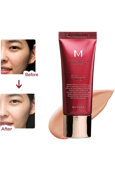 Missha M Perfect Cover BB Cream SPF42 (No.27/Honey Beige) 20ml