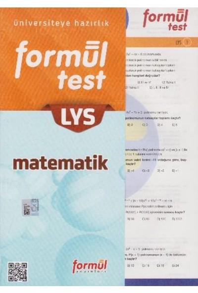 Formül Yayınları Lys Matematik Yaprak Test