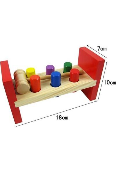 Wooden Toys Strikes The Wooden - Ahşap Bambam Çivi Çakma Oyunu