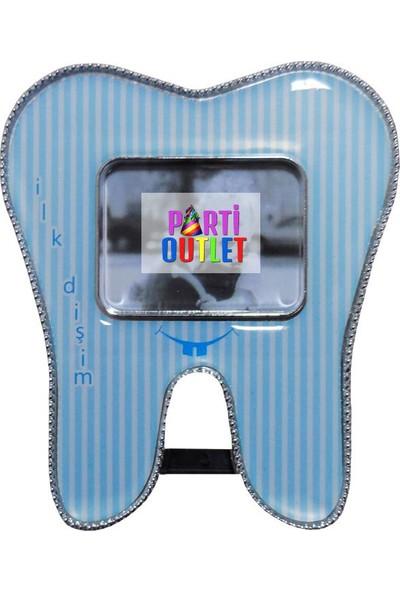 Partioutlet Ayaklı Diş Çerçevesi - Mavi