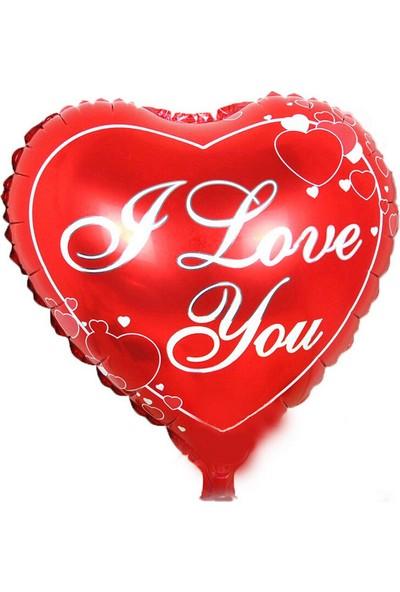 Partioutlet I Love You Folyo Balon - Kırmızı