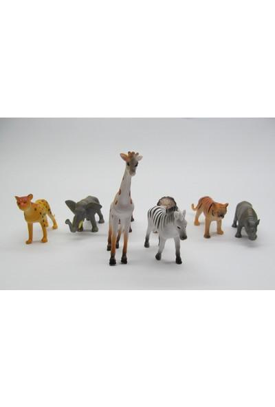 Onyıl Hediyelik Vahşi Hayvanlar 8 Parça 0238