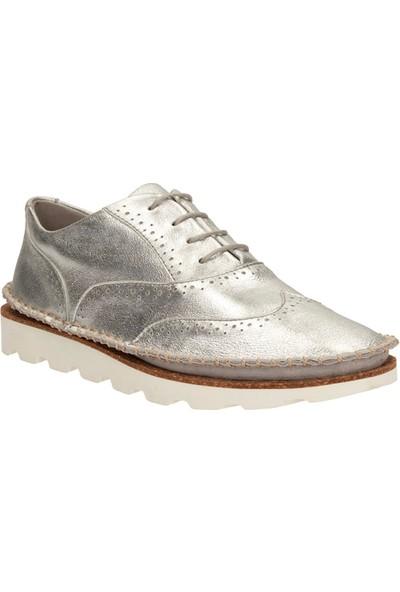 Clarks Damara Rose Kadın Ayakkabı Gümüş