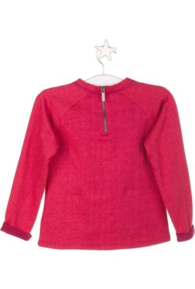 Tuc Tuc Kız Çocuk Sweatshirt, Retro Mood Fuşya