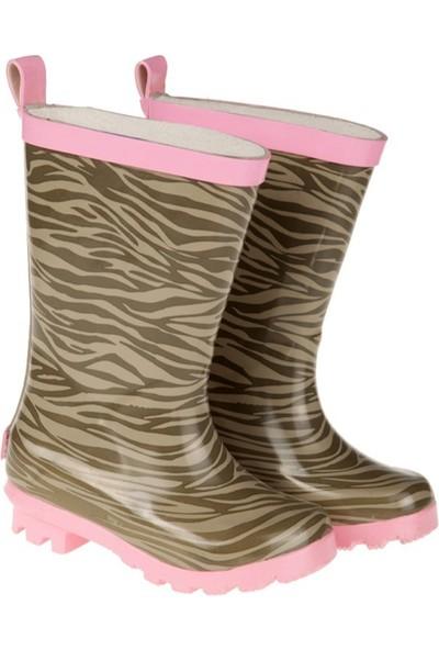 Tuc Tuc Kız Çocuk Yağmur Botu, Pink Bej