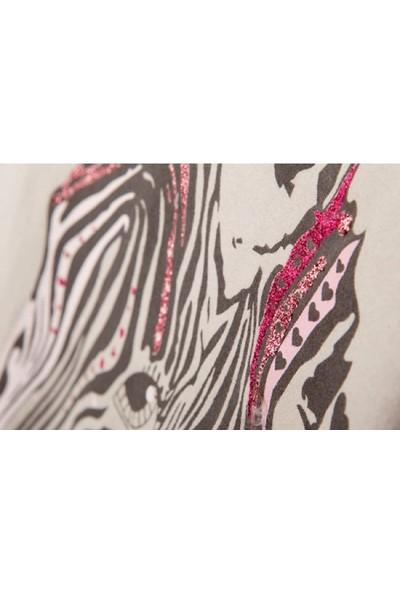 Tuc Tuc Kız Çocuk Uzun Kollu T-Shirt, Pink Bej