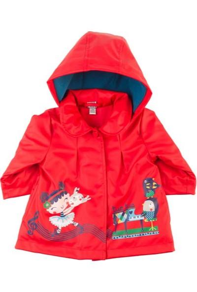 Tuc Tuc Kız Çocuk Yağmurluk, Symphony Kırmızı