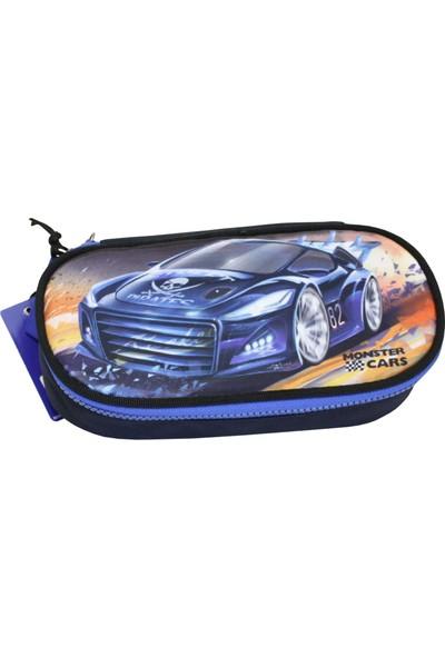 Monster Cars Kalemkutu 8311-2 Mavi Kalemkutu