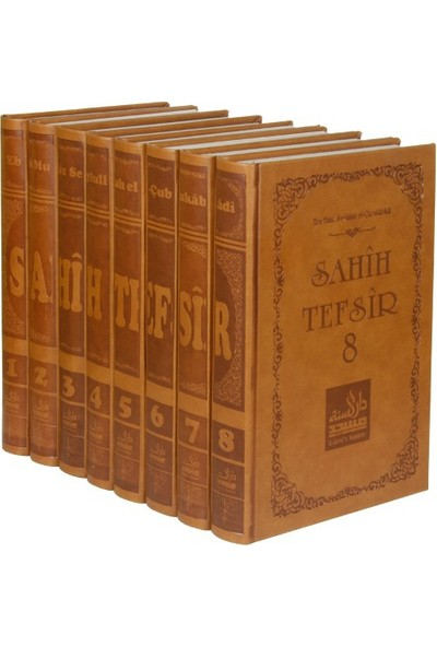 Sahih Tefsir 8 Cilt Takım: Kur'An-I Kerim Tefsiri (Termo Cilt)