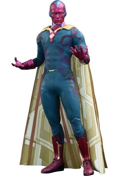 Hot Toys Vision Avengers Age Of Ultron Sixth Scale Acion Figure