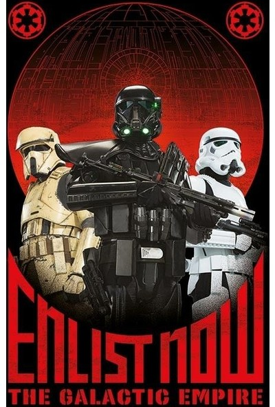 Pyramid International Maxi Poster Star Wars Rogue One Enlist Now Pp33967