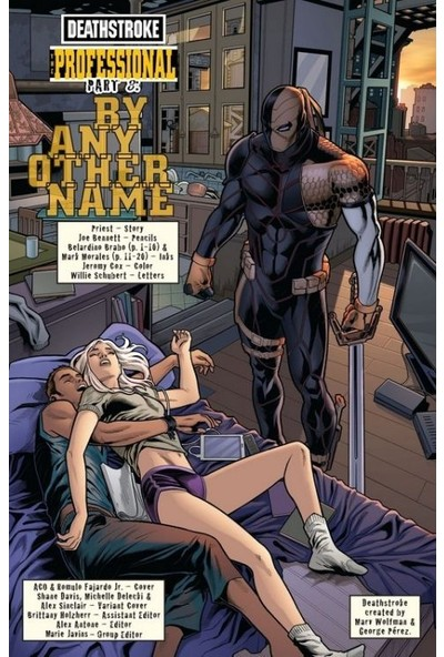 Deathstroke (2016-) #3 Fasikül İngilizce Çizgi Roman