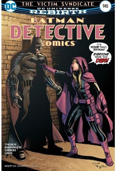 Detective Comics (2016-) #945 Fasikül İngilizce Çizgi Roman