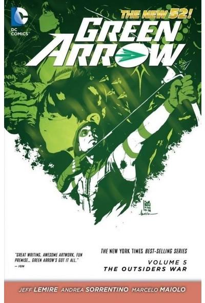 Green Arrow (2011-2016) Vol. 5: The Outsiders War İngilizce Çizgi Roman
